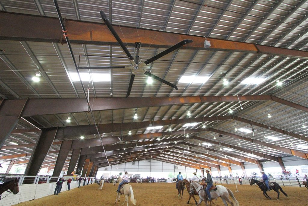 Texas Horse Park At The Trinity Entrematic Fans