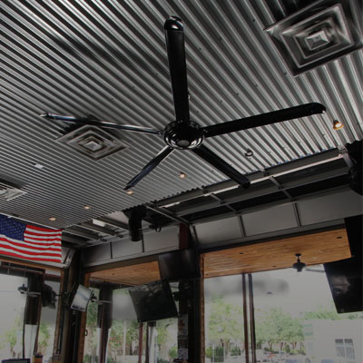 Stylish ceiling fans for restaurants bars a showpiece theyll talk about restaurants mozeypictures Images